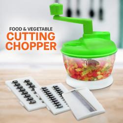 Flamingo Advance Multi Function Food & Vegetable Cutting Chopper Manual Handling, FG123