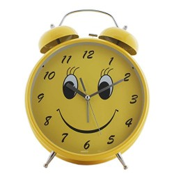 Twin Bell Alarm Clock Assorted Color TB456