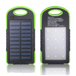 Mison, Y006, 8000mAh Solar Power Bank For All Smartphones & Tablets