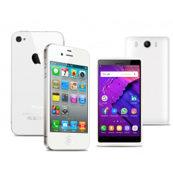 Buy 2 in 1 Bundle Offer, Apple iPhone 4 16GB, With Free Lukka Smartphone