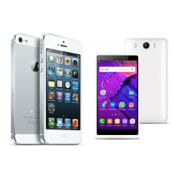 Buy 2 in 1 Bundle Offer, Apple iPhone 5 16GB, With Free Lukka Smartphone