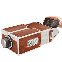 Portable Mini Cinema Cardboard Smartphone Projector 2.0 For All Smartphones