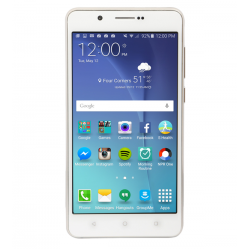 "Leader Mars 11 Smartphone, 4G LTE, Dual Sim, Dual Cam, 5.0"" IPS, Silver"