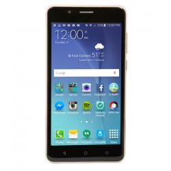 "Leader Mars 11 Smartphone, 4G LTE, Dual Sim, Dual Cam, 5.0"" IPS, Gold"