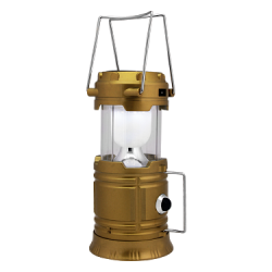 GT Rechargeable Camping Lantern With Solar Recharger, JH-5800