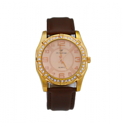 Dc De Cambridge Genuine Leather Watch For Woman, DC1405