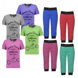 Stylish 8 in 1 Bundle Offer,Unisex Universal T-Shirt And three fourths Set Assorted Colors And Designs