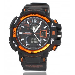 Eco Sport Dual Time Sports Watch For Men(1066)