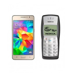Buy 2 in 1 Bundle Offer, Samsung Galaxy Grand Prime Smartphone, Nokia 1100