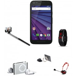 5 In 1 Bundle Offer,Kimfly Z10 Smartphone,Selfie Stick,Headphone,Mobile Phone Ring Holder,LED Band Watch