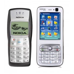 Combo Offers, Nokia N73 With Nokia 1100