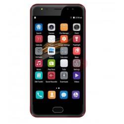 "Orale X1 Fingerprint Sensor Smartphone, 4G LTE, Dual Cam, 5.5"" IPS, 16GB, Red"