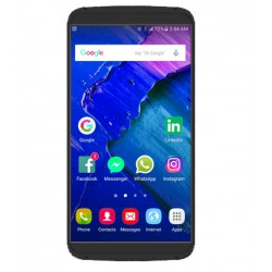 Mione R1 Smartphone, 4G Dual Sim, Dual Cam, 5. IPS, 16GB, Black