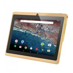 BSNL B-25, Tablet 7 inch, Android 4.4.2, 8GB, 512 MB DDR3, Wi-Fi, Quad Core, Dual Camera, Gold