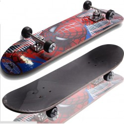 Unisex Skating Board Junior Skateboard Multi Colour Printed, G061