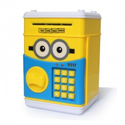 Money Saving Box With Number Password Multi Design, MS01