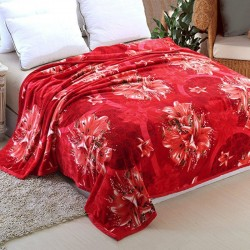 Flannel Single Blanket Super Soft Assorted Colours And Assorted Design's 160X200Cm, G033