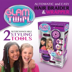 Glam Twirl Automatic And Easy Hair Braider&Wrapper, GT12