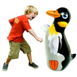 Intex Children's Cartoon Inflatable 3D Punching Bop Bag Toy, 44669NP