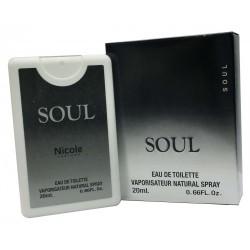 Nicole Soul Eau De Toilette Vaporisateur Natural Poket Spray NS29