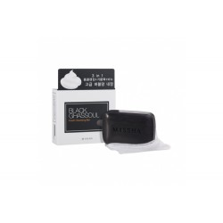 Missha Black Ghassoul Foam Cleansing Bar,M12