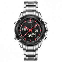 Naviforce Sports Analog & Digital Stainless Steel Fashion Watch For Men,NF9050M