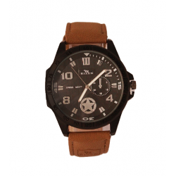 Rizen  Sports Leather Watch For Men, RZ111
