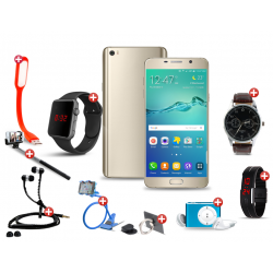 Raising 10 In 1 Bundle Offer, Lenosed M5 Smartphone, Portable USB LED Lamp, Zipper Stereo Wired Earphones, Ring Holder, Mobile holder, Macra watch, Yazol watch, Selfie stick, Mp3 player, Led Band Watch