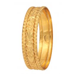 Sapna 22k Gold Plated Bangles (23654) 3piece