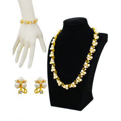 Empire Gold Plated Austrian Rhinestones Set, 134324