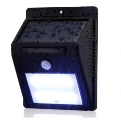 Ever Brite Deluxe Motion Activated LED Solar Outdoor Light, Automatic on/off