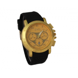 Odel quartz Fashion Watch For Men, DC998, Gold Dial
