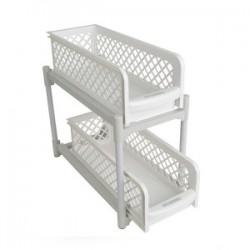Portable 2 Tier Basket Drawers, PB298