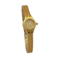 Qmax Fancy Watch For Women, AC787, Gold