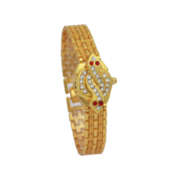 Walar Fancy Watch For Women, AC786, Gold