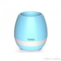 Multi Color Creative Smart Bluetooth Music Flower Pot Speaker, OT712