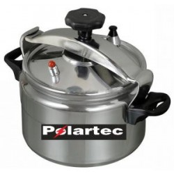 Sayber Polartec 4.0 Liter Aluminum Pressure Cooker, PT12449