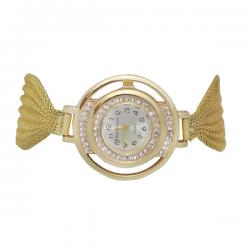 Alexa Quirl Fancy Watch For Women, RS3003, Gold