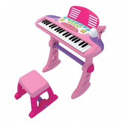 Children Infant Playing 37 Keys Piano Electronic Keyboard Musical Instrument With Microphone, XL09900