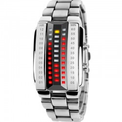 Skmei Fashion Creative Watch Digital LED Display Water Shock For Men, S1035