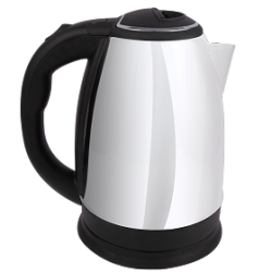 Zaiba 2.0 Litre Stainless Steel Body Electric Kettle 1800 Watts, ZB201