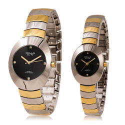 Omax Pair Watch For Men & Women, HBK850