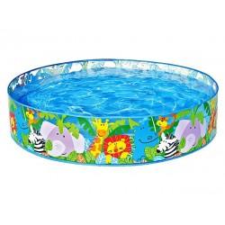 Intex happy animal clear view snap set swimming pool, 58474