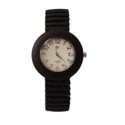 MJ New Quartz Exclusive Resin Flexible Band Unisex Watch, S042