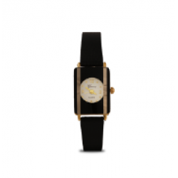 Geneva Quartz Leather Band Watch For Women, PRC36