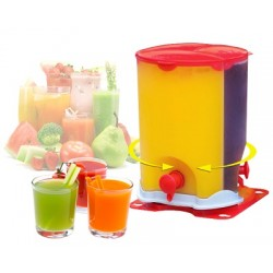 ATD 3 Compartment Drink Dispenser With Spin And Slide Out Feature, 30312