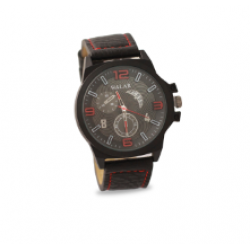 Walar Quartz Leather Band Watch For Men, WG0242