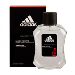 Adidas Team Force For Men, EDT01,100ML, Red