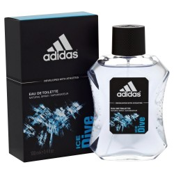 Adidas Ice Dive For Men, EDT01, 100ML, Blue