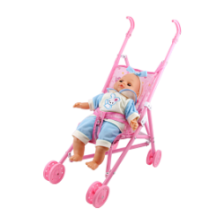 Lovely Toys Baby Carriage, GTT05016, Pink